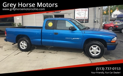 1999 Dodge Dakota for sale at Grey Horse Motors in Hamilton OH