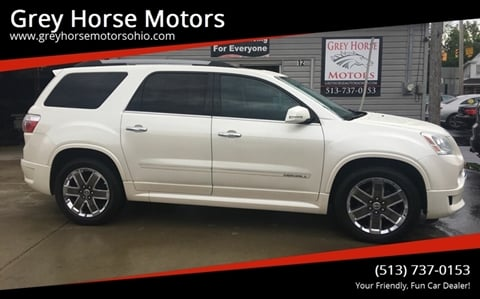 2012 GMC Acadia for sale at Grey Horse Motors in Hamilton OH