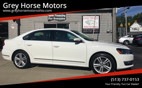 2013 Volkswagen Passat for sale at Grey Horse Motors in Hamilton OH