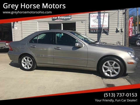 2007 Mercedes-Benz C-Class for sale at Grey Horse Motors in Hamilton OH