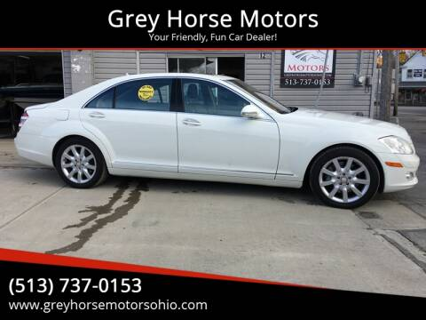 2008 Mercedes-Benz S-Class for sale at Grey Horse Motors in Hamilton OH
