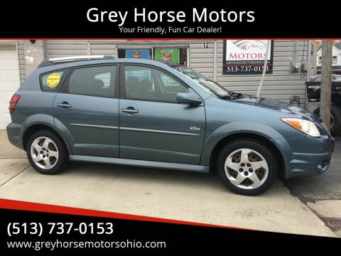 2008 Pontiac Vibe for sale at Grey Horse Motors in Hamilton OH