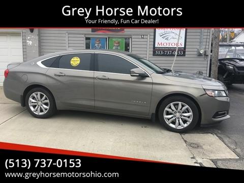 2018 Chevrolet Impala LT for sale at Grey Horse Motors in Hamilton OH