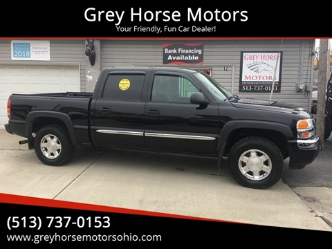 2004 GMC Sierra 1500 SLE for sale at Grey Horse Motors in Hamilton OH