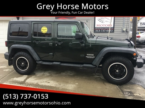 2011 Jeep Wrangler Unlimited for sale at Grey Horse Motors in Hamilton OH