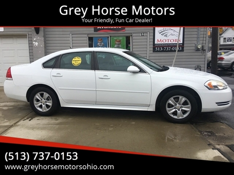 2013 Chevrolet Impala for sale at Grey Horse Motors in Hamilton OH