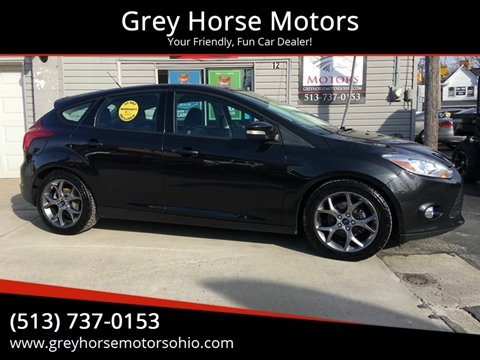 2014 Ford Focus SE for sale at Grey Horse Motors in Hamilton OH