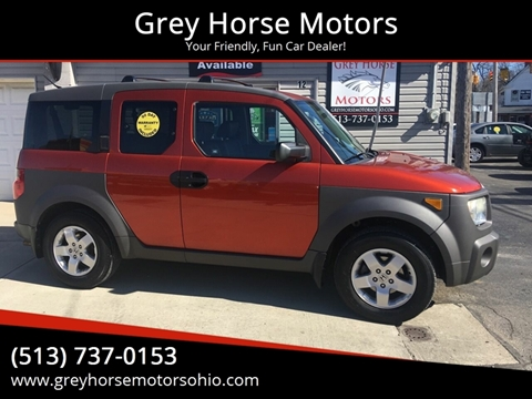 2004 Honda Element for sale at Grey Horse Motors in Hamilton OH