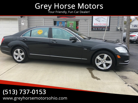 2012 Mercedes-Benz S-Class for sale at Grey Horse Motors in Hamilton OH