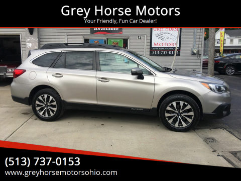 2017 Subaru Outback for sale at Grey Horse Motors in Hamilton OH
