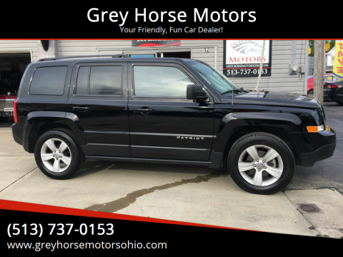 2017 Jeep Patriot for sale at Grey Horse Motors in Hamilton OH