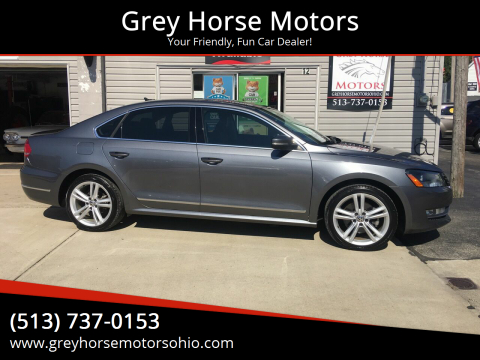 2014 Volkswagen Passat for sale at Grey Horse Motors in Hamilton OH
