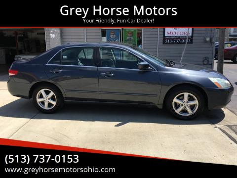 2004 Honda Accord for sale at Grey Horse Motors in Hamilton OH