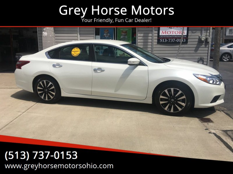 2018 Nissan Altima for sale at Grey Horse Motors in Hamilton OH