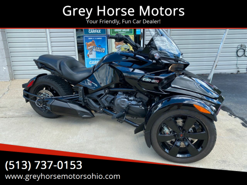 2017 Can-Am Spyder  F3 for sale at Grey Horse Motors in Hamilton OH