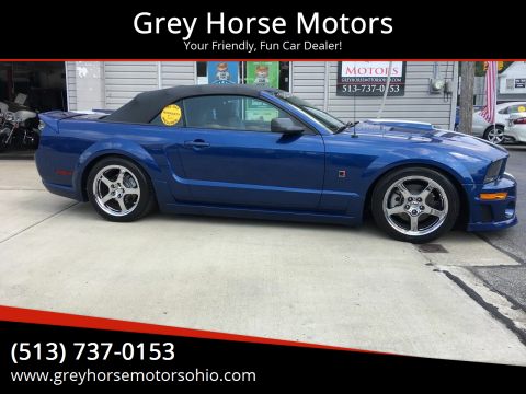 2006 Ford Mustang for sale at Grey Horse Motors in Hamilton OH