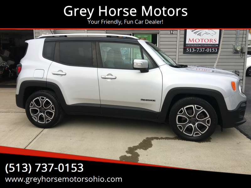 2015 Jeep Renegade for sale at Grey Horse Motors in Hamilton OH