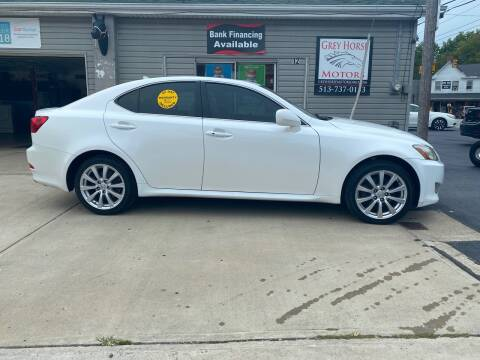 2008 Lexus IS 250 for sale at Grey Horse Motors in Hamilton OH
