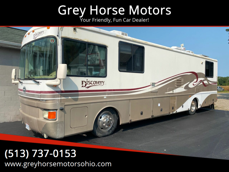 1997 FleetwoodDiscovery 37ft for sale at Grey Horse Motors in Hamilton OH