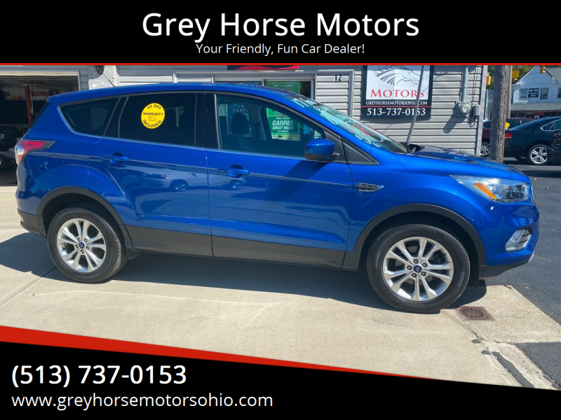 2017 Ford Escape for sale at Grey Horse Motors in Hamilton OH