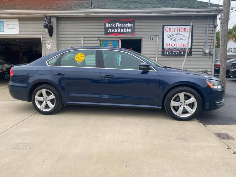 2013 Volkswagen Passat for sale at Grey Horse Motors in Hamilton OH