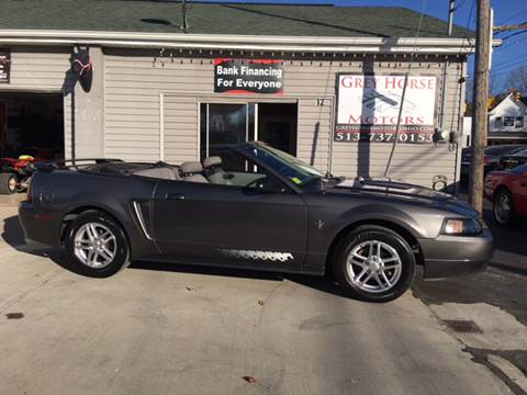 2003 Ford Mustang for sale at Grey Horse Motors in Hamilton OH