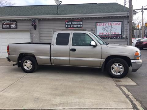 2002 GMC Sierra 1500 for sale at Grey Horse Motors in Hamilton OH
