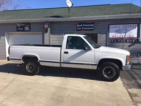 2000 Chevrolet C/K 3500 Series for sale at Grey Horse Motors in Hamilton OH