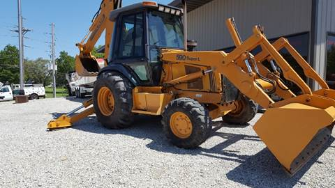 2000 Case IH  590 Super L backhoe