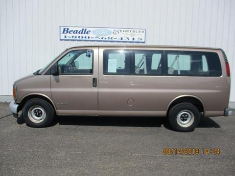 2000 Chevrolet Express Passenger for sale in Bowdle, SD