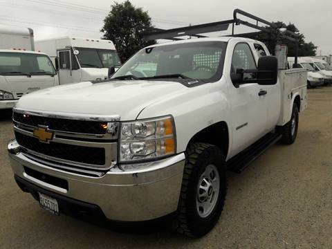 2011 Chevrolet Silverado 2500HD for sale at DOABA Motors in San Jose CA