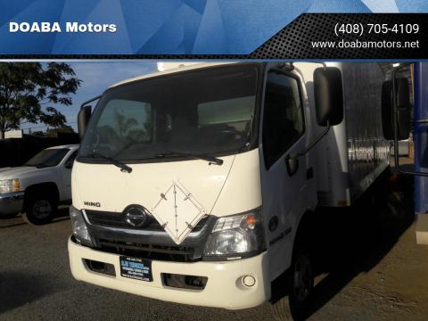 2015 Hino 195 for sale at DOABA Motors in San Jose CA