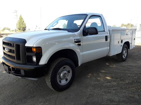 2008 Ford F-250 Super Duty for sale at DOABA Motors in San Jose CA
