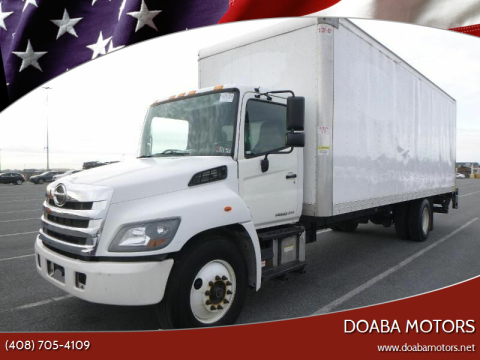 2016 Hino 268A for sale at DOABA Motors in San Jose CA