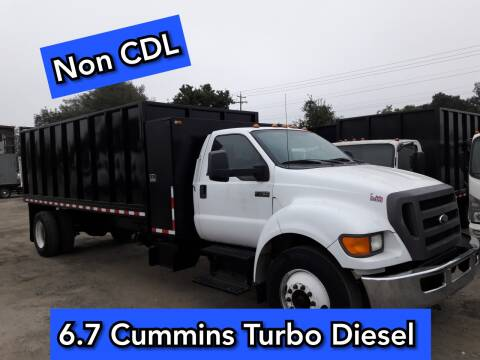 2012 Ford F-750 Super Duty for sale at DOABA Motors in San Jose CA