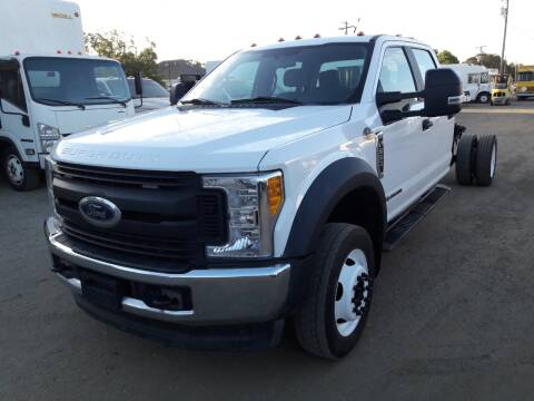 2017 Ford F-550 Super Duty for sale at DOABA Motors in San Jose CA