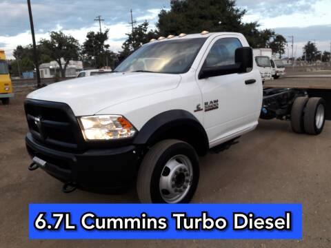 2017 RAM Ram Chassis 5500 for sale at DOABA Motors in San Jose CA