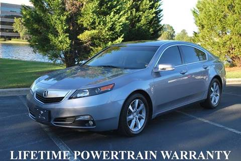 2012 Acura TL for sale in Birmingham, AL