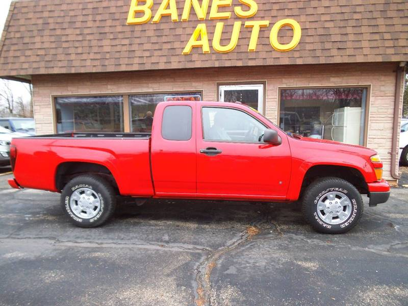 2008 Chevrolet Colorado 4x4 Work Truck Extended Cab 4dr - Beaver Dam WI