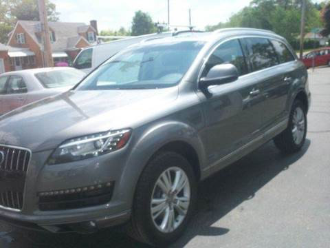 2011 Audi Q7 for sale at FAMILY AUTO SALES, INC. in Johnston RI