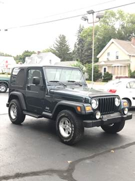 2005 Jeep Wrangler for sale at FAMILY AUTO SALES, INC. in Johnston RI