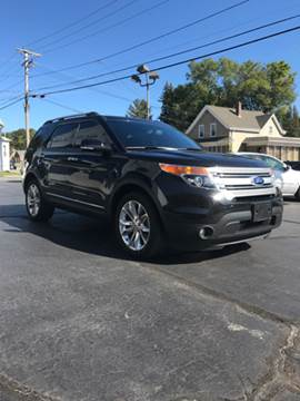 2015 Ford Explorer for sale at FAMILY AUTO SALES, INC. in Johnston RI