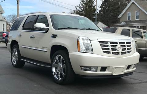 2011 Cadillac Escalade for sale at FAMILY AUTO SALES, INC. in Johnston RI