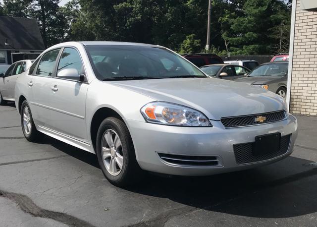 2012 Chevrolet Impala for sale at FAMILY AUTO SALES, INC. in Johnston RI