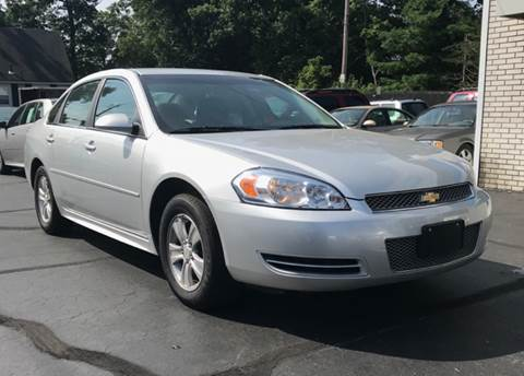 2012 Chevrolet Impala for sale at FAMILY AUTO SALES, INC. in Johnston RI