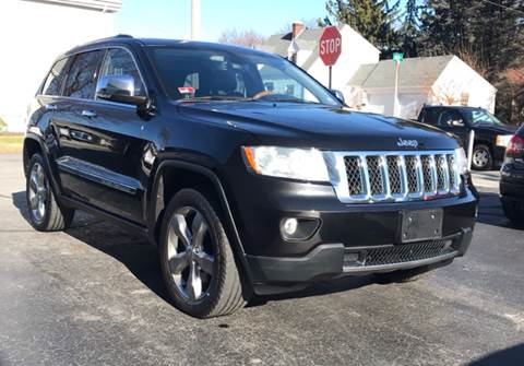 2012 Jeep Grand Cherokee for sale at FAMILY AUTO SALES, INC. in Johnston RI