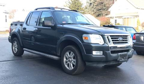2010 Ford Explorer Sport Trac for sale at FAMILY AUTO SALES, INC. in Johnston RI