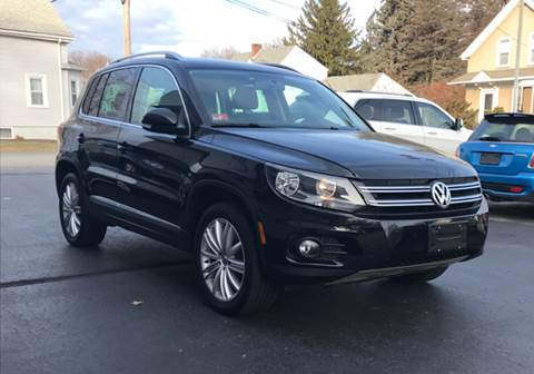 2014 Volkswagen Tiguan for sale at FAMILY AUTO SALES, INC. in Johnston RI