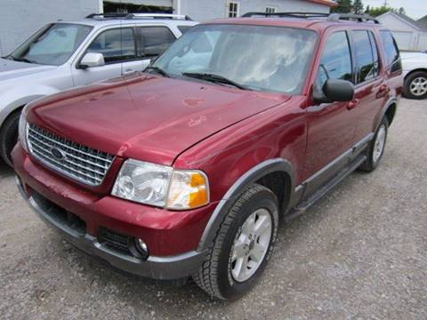 2004 Ford Explorer for sale in Rogers City, MI