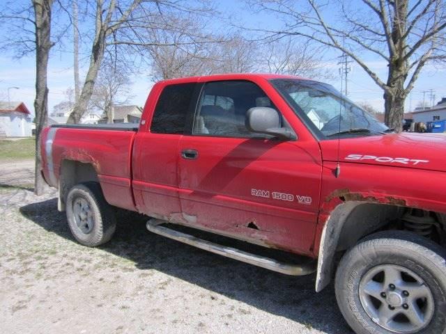 2000 Dodge Ram Pickup 1500 4dr ST 4WD Extended Cab LB - Rogers City MI